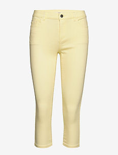 Pants woven - skinny jeans - yellow