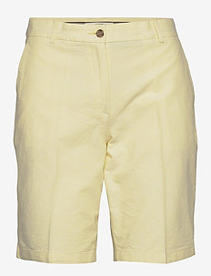 Shorts woven - chino short - lime yellow
