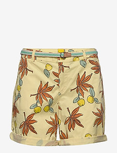 Shorts woven - chino shorts - bright yellow