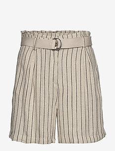 Shorts woven - paper bag shorts - sand