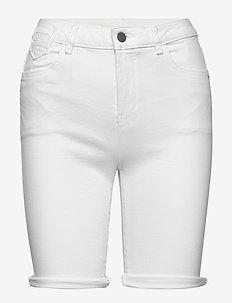 Shorts woven - denimshorts - white