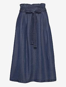 Skirts denim - denimskjørt - blue dark wash