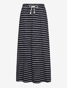 Skirts knitted - maxi röcke - navy
