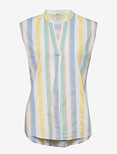 Blouses woven - blouses zonder mouwen - white 4