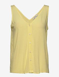 Blouses woven - Ærmeløse bluser - lime yellow