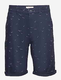 Shorts woven - chinos shorts - navy 4