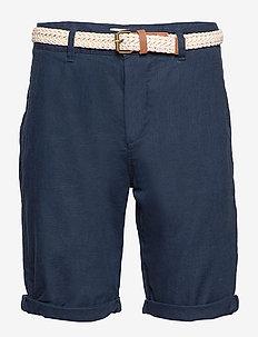 Shorts woven - chinos shorts - dark blue