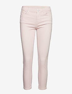 Pants denim - skinny jeans - light pink