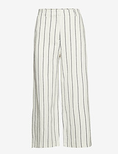 Pants woven - pantalons larges - off white