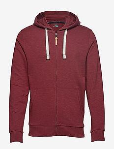 Sweatshirts - DARK RED