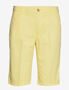Shorts woven - bermudashorts - lime yellow