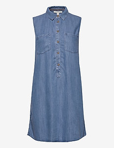 Dresses denim - skjortekjoler - blue light wash