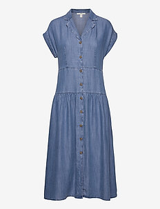Dresses denim - skjortekjoler - blue medium wash