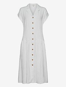 Dresses light woven - midi kjoler - white