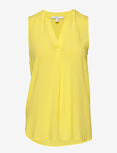 Blouses woven - blouses sans manches - bright yellow
