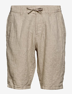 Shorts woven - casual shorts - beige