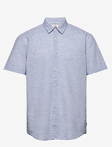 Shirts woven - basic overhemden - pastel blue