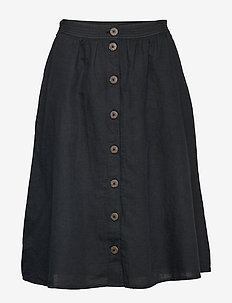 Skirts light woven - BLACK