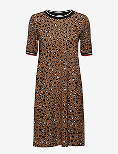 Dresses knitted - CAMEL