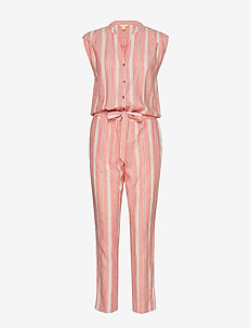 Overalls woven - CORAL RED
