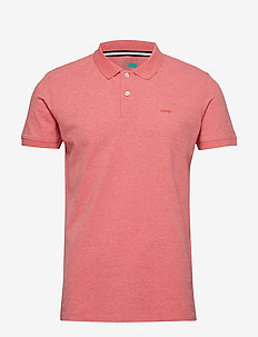 Polo shirts - BERRY RED