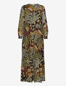 Dresses light woven - maxikjoler - olive 4