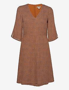 Dresses light woven - korte kjoler - rust brown 4