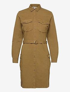 Dresses woven - skjortekjoler - olive