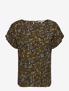 Blouses woven - blouses à manches courtes - olive 4