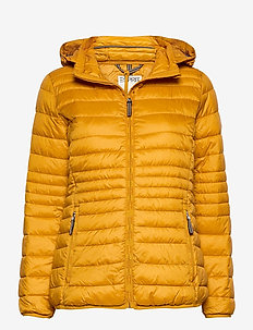 Jackets outdoor woven - doudounes - brass yellow