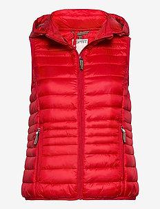 Vests outdoor woven - vests - red