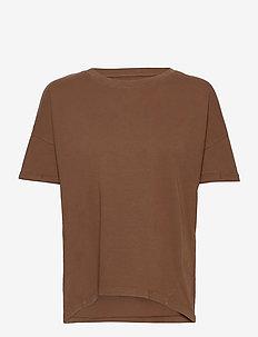 T-Shirts - t-shirts - rust brown