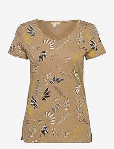 T-Shirts - t-shirts - beige