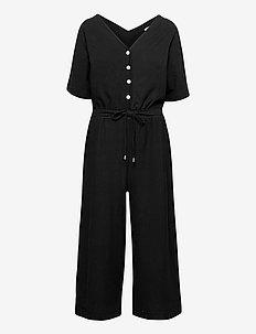 Overalls knitted - kleding - black