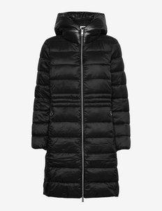 Coats woven - winterjassen - black