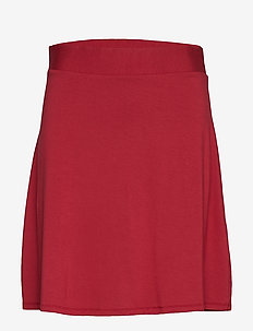 Skirts knitted - short skirts - red