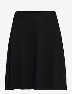 Skirts knitted - jupes courtes - black