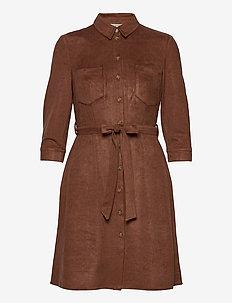Dresses woven - skjortekjoler - brown
