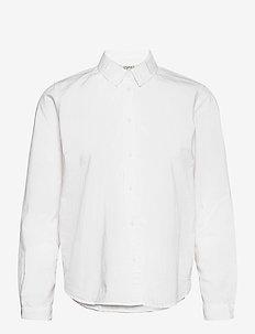 Blouses woven - langermede skjorter - white