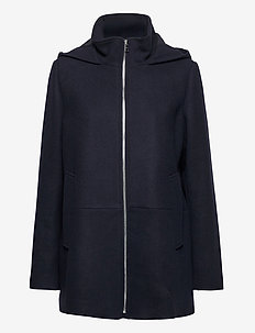 Jackets outdoor woven - wollen jassen - navy