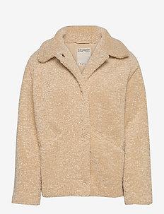 Jackets indoor woven - fausse fourrure - cream beige