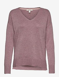 Sweaters - jumpers - mauve 5