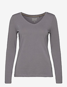T-Shirts - long-sleeved tops - gunmetal 4