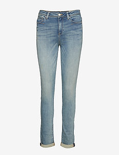 Pants denim - BLUE LIGHT WASH