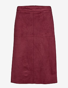 Skirts woven - BORDEAUX RED