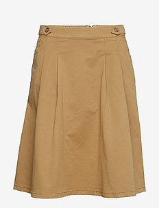 Skirts woven - CAMEL