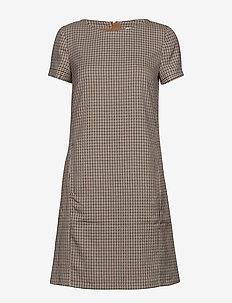 Dresses woven - CAMEL