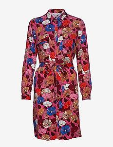 Dresses light woven - PINK FUCHSIA