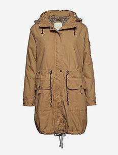 Coats woven - BARK