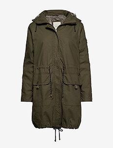 Coats woven - parkas - khaki green